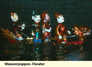 Wasserpuppen-Theater